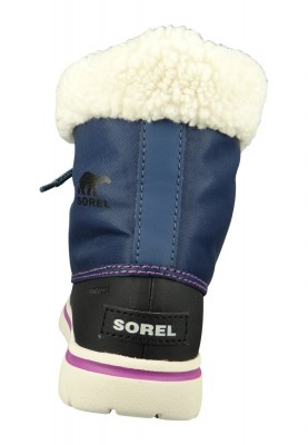 Sorel Damen Winterstiefel Boot NL2297-478 COZY CARNIVAL Gefüttert Dark Mountain Blau – Bild 3