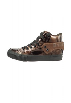 British Knights Sneaker B40-3701 Bronze Black Metallic Look – Bild 2