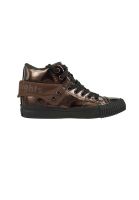 British Knights Sneaker B40-3701 Bronze Black Metallic Look – Bild 4