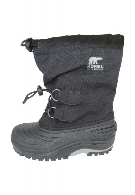 Sorel Kinder Winterstiefel NY1518-011 SUPER TROOPER Black Schwarz – Bild 7
