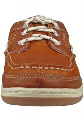 Sebago Schuhe B81060 Triton Three Eye British TAN   Brown Braun – Bild 4