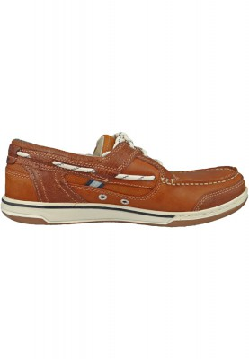 Sebago Schuhe B81060 Triton Three Eye British TAN   Brown Braun – Bild 5