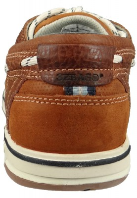 Sebago Schuhe B81060 Triton Three Eye British TAN   Brown Braun – Bild 3