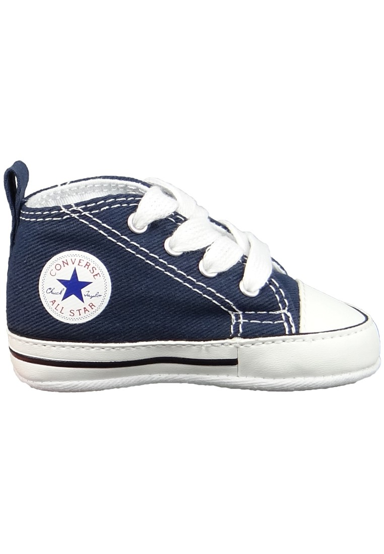 converse baby chucks 88865 first star navy blau marken. Black Bedroom Furniture Sets. Home Design Ideas