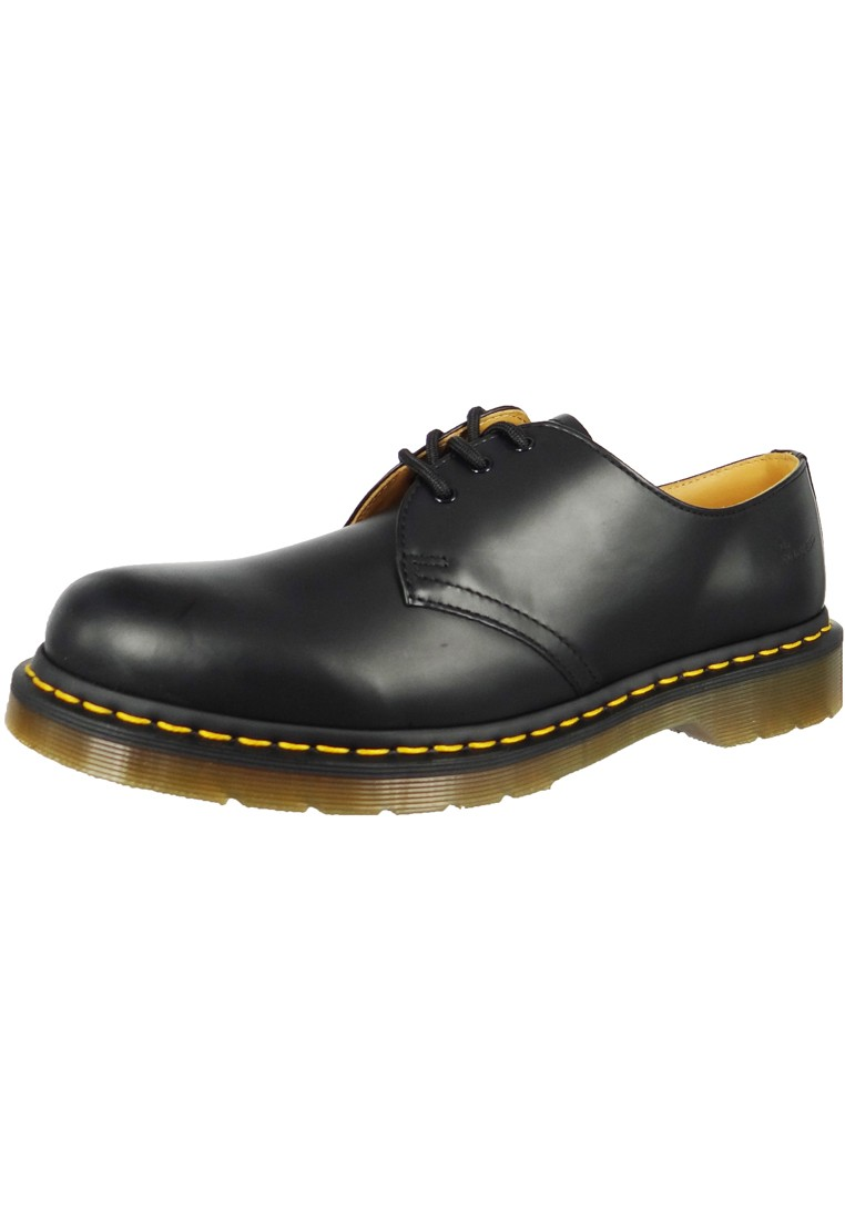 doc dr martens 1461 b sm black schwarz 3 loch 11838002 herrenschuhe outdoor schuhe boots. Black Bedroom Furniture Sets. Home Design Ideas